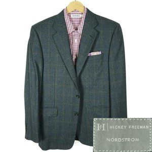 Hickey Freeman Madison Blazer Blue Size 40R